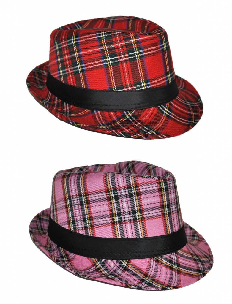 Schotse hoed Kojak geruit