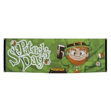 Banner St Patrick's Day (74 x 220 cm)