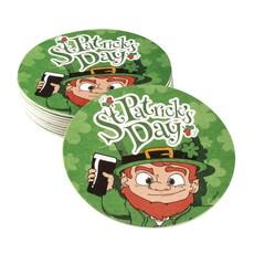 10 Bierviltjes St Patrick's Day (10 cm)