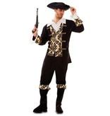 Gouden Piraat Kostuum Man
