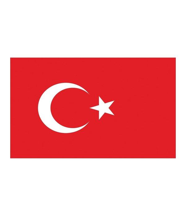 Vlag Turkije 90x150cm