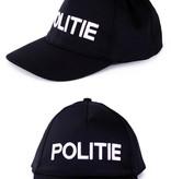Zwarte Pet Politie Volwassenen