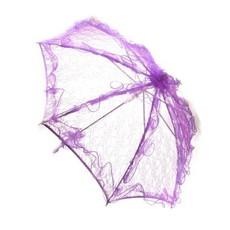 Bydemeyer paraplu paars groot scherm 97 cm