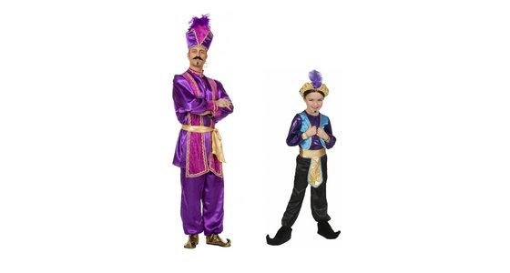 Sultan kostuum