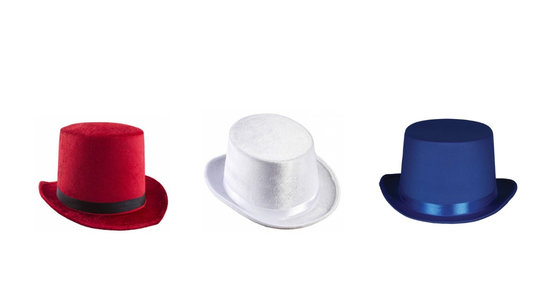 Toppers hoeden - mutsen