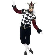 Harlekijn Venetiaans Kostuum Man