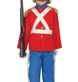 Engelse Soldaat Kind Kostuum