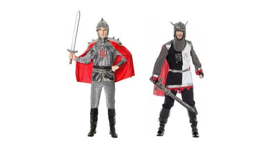 Middeleeuwse Strijder kostuum