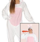 Konijn Pyjama Onesie Man/Vrouw