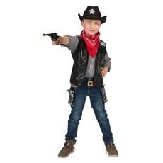 Cowboy Vest Kind Zwart