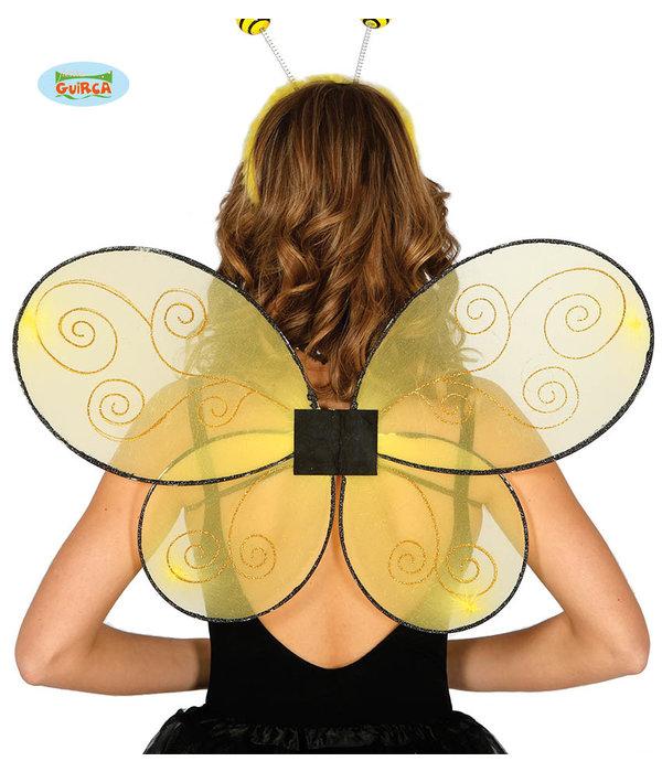Vleugels Geel Bij