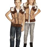 Cowboy vest kind Western