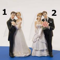 Trouwpaartje Taart Huwelijk