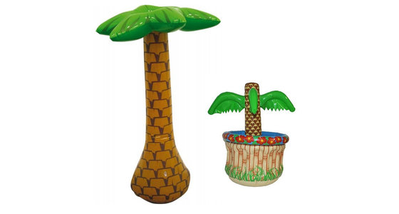 Opblaas palmboom