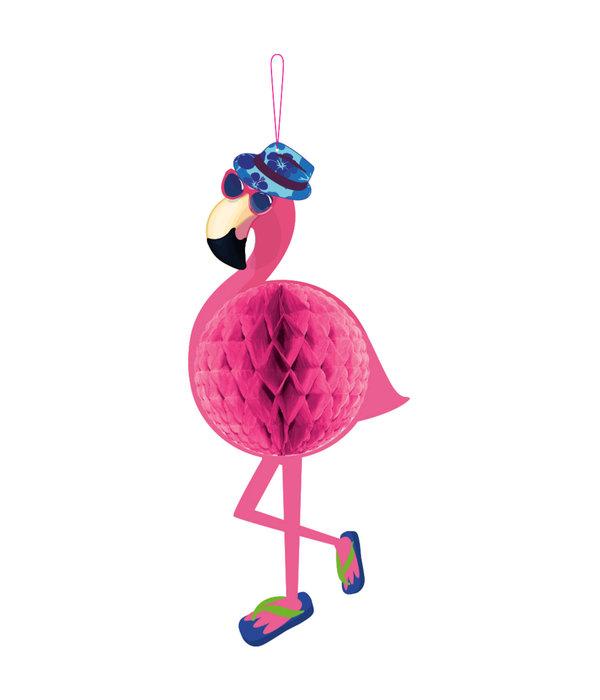 Hawaii Honeycomb Flamingo
