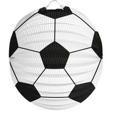 Lampion Voetbal Bolvorm 22cm