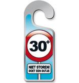 Deurhanger 30+ Niet Storen! Doet Een Dutje