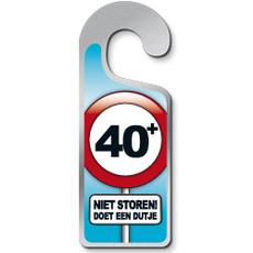 Deurhanger 40+ Niet Storen! Doet Een Dutje
