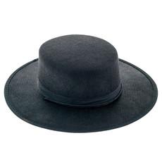 Spaanse hoed vilt zwart