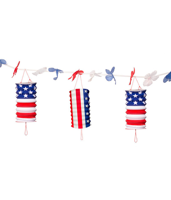 USA Party Lampion Slingers 3,6 mtr