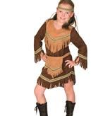 Indianenjurkje Meisje Bruin