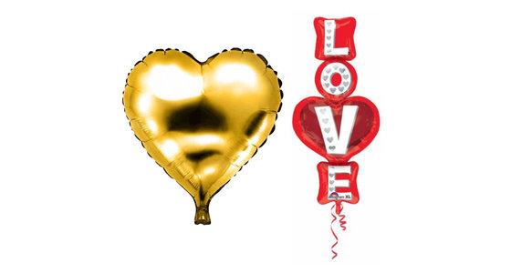 Liefde & Valentijn ballon