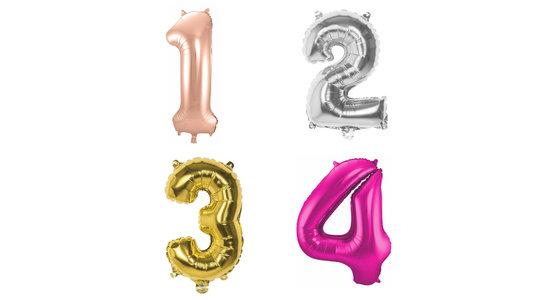 Ballonnen cijfers