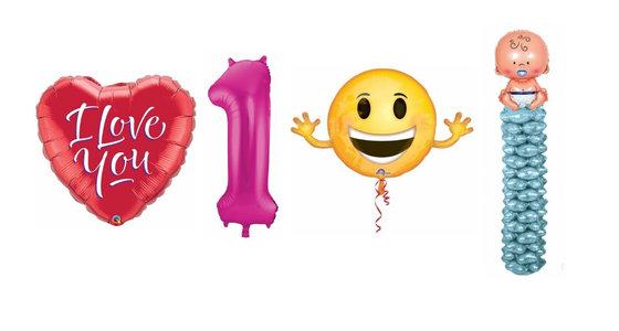 Alle folie ballonnen