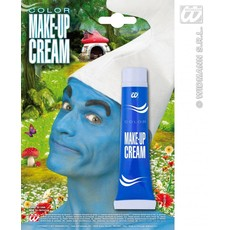 Tube schmink blauw