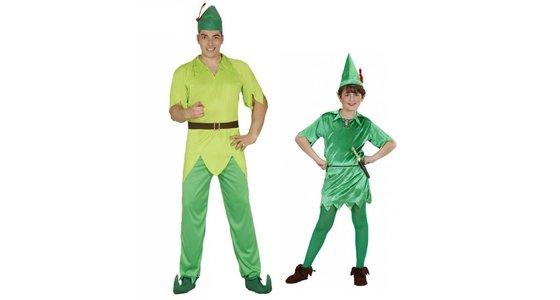 Peter Pan kostuum