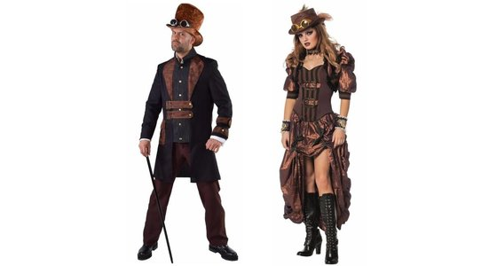 Steampunk kostuum