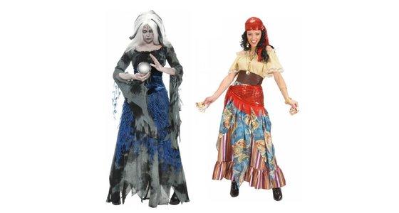 Waarzegster kostuum