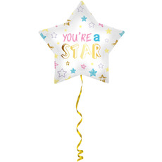 Folieballon You're A Star - 48cm