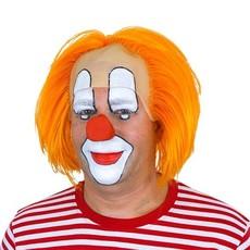 Clownspruik Bas oranje