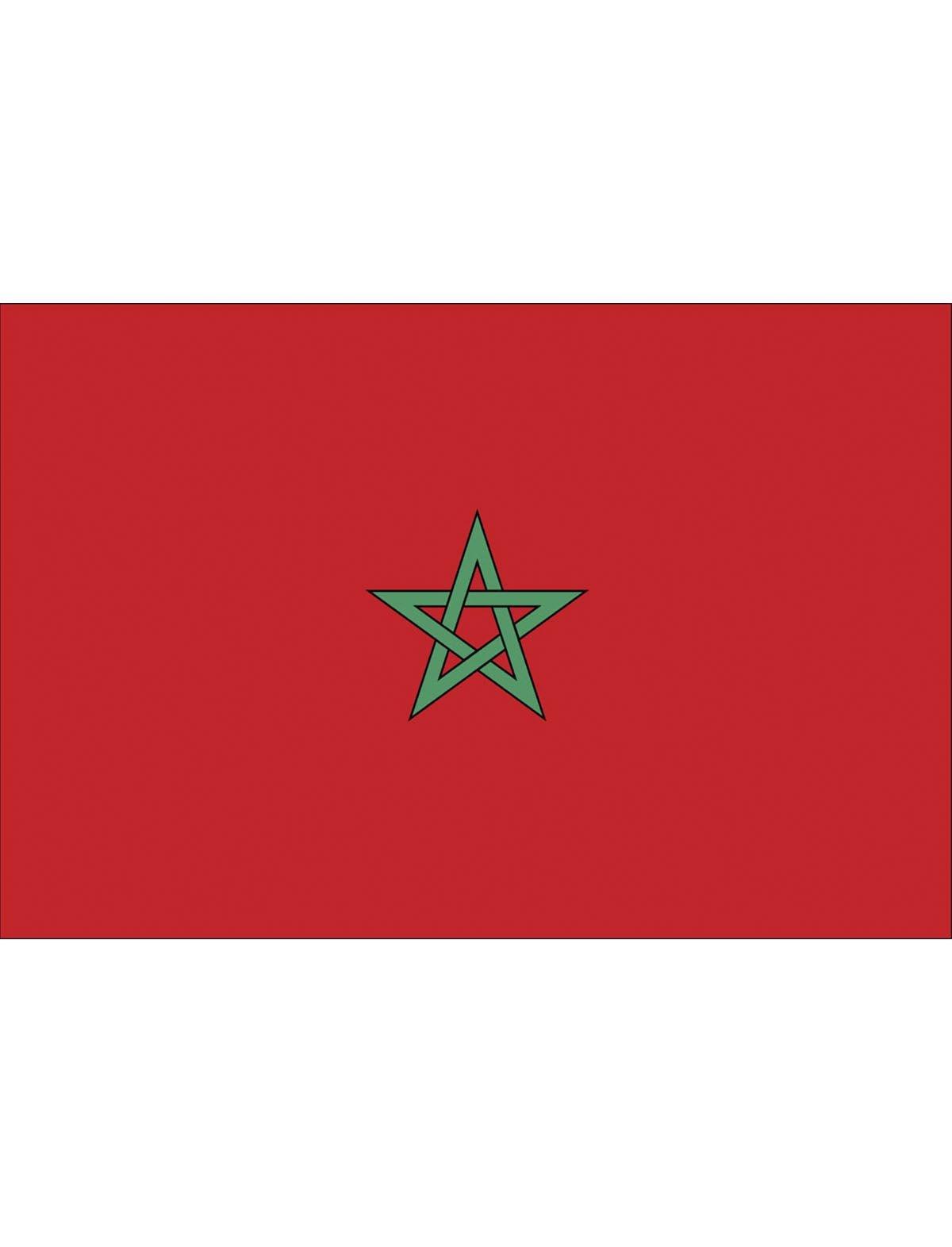 Vlag Marokko 90x150cm