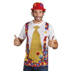 Fotorealistisch shirt Clown
