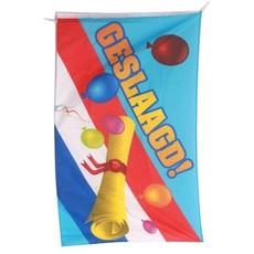 Gevelvlag Geslaagd NL-vlag / Diploma