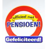 Huldeschild Officieel met Pensioen