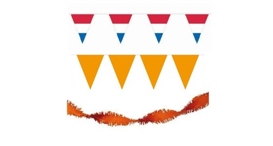 Holland - Oranje versiering