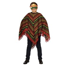 Poncho Mexicaans kind