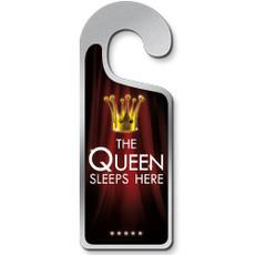 Deurhanger 'The Queen Sleeps Here'