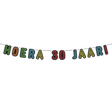 Neon Slinger Hoera 30 Jaar