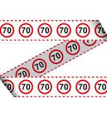 70 Jaar Afzetlint Verkeersbord - 15 meter
