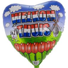 Folieballon Welkom Thuis - 46cm