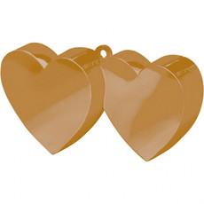 Ballongewicht dubbel hart goud 150gr