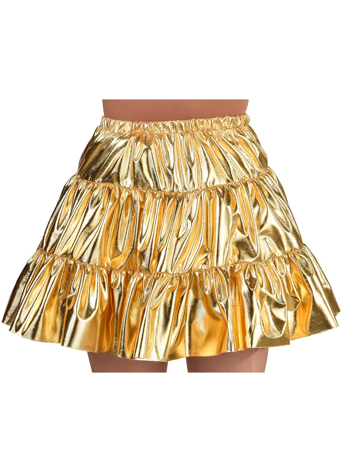 Gouden folie rok