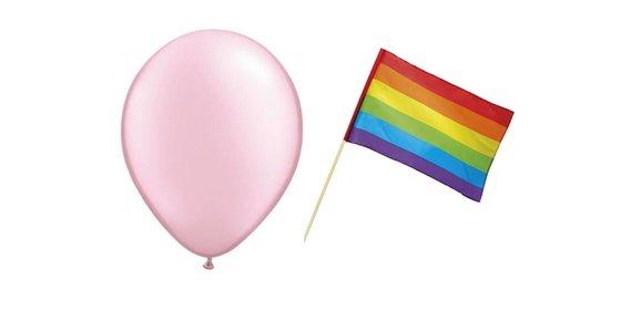 Gay Pride Versiering
