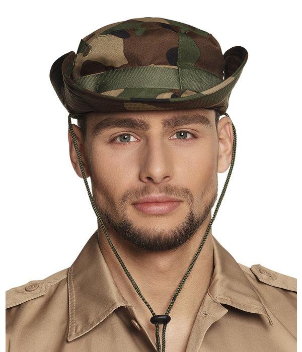 Padvinders camouflage hoed