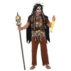 Voodoo Priester Man Kostuum