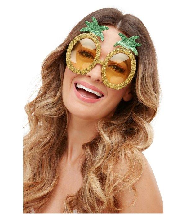 Ananas glitter bril